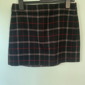 size 10 JCrew wool mini skirt